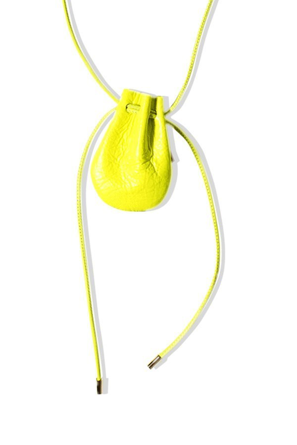TUBICI® | Fluo Yellow Leather | SS21 MYKONOS | www.tubicistore.com