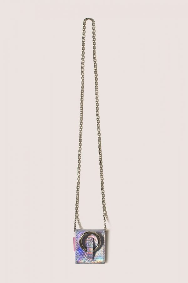 TUBICI® | Iridescent Silver Lizard | SS20 PARIGI | www.tubicistore.com