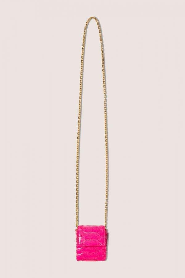 TUBICI® | Pink Shiny Python | SS20 PARIGI | www.tubicistore.com
