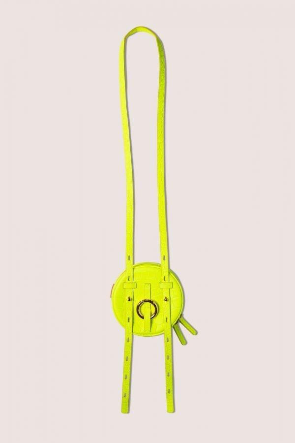 TUBICI® | Matt Fluo Yellow Crocodile | SS20 MILANO | www.tubicistore.com