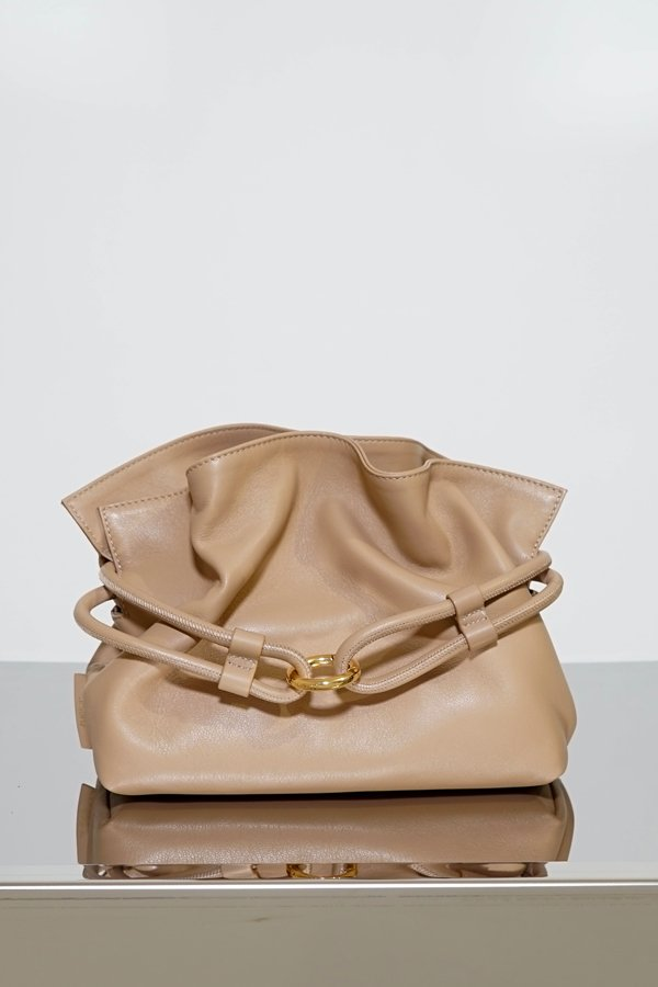 TUBICI® | Nude Leather Pouch | SS21 ROMA XL | www.tubicistore.com