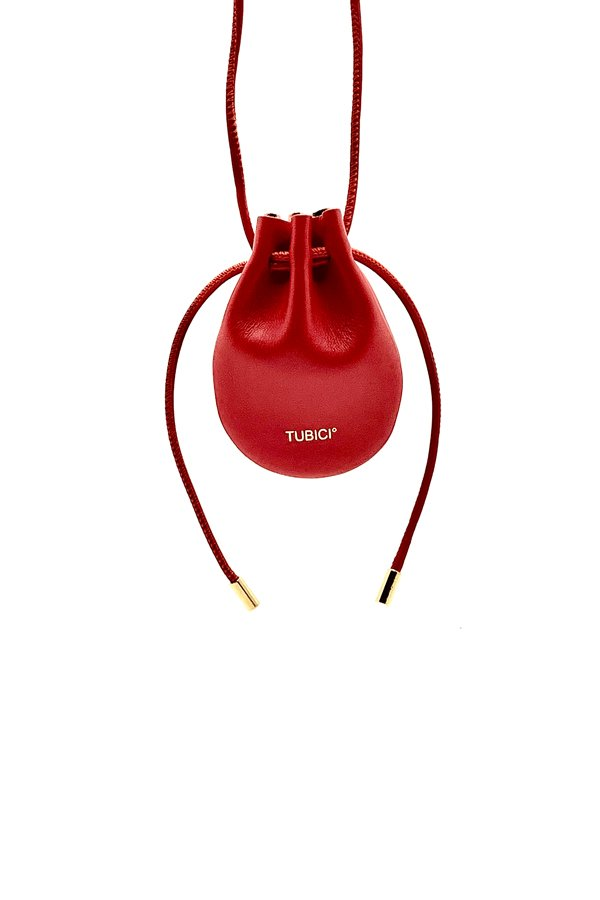 TUBICI® | Red Leather | SS21 MYKONOS | www.tubicistore.com