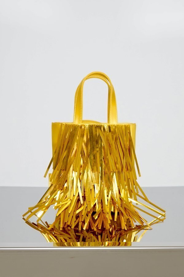 TUBICI® | Yellow Satin & Paillette | SS21 NEW YORK | www.tubicistore.com