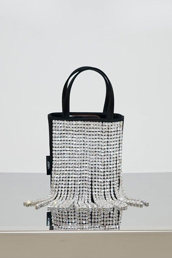 TUBICI® | Black Satin & Crystal | SS21 NEW YORK | www.tubicistore.com