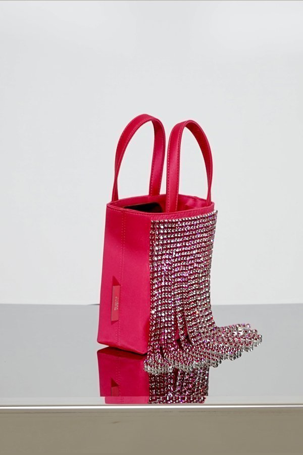 TUBICI® | Fuxia Satin & Crystal | SS21 NEW YORK | www.tubicistore.com