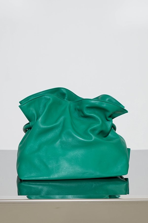 TUBICI® | Emerald Leather Pouch | SS21 ROMA XL | www.tubicistore.com